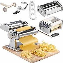 VonShef Manuelle Pastamaschine Nudelmaschine –