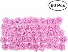 VORCOOL Künstliche Blume Schaumrosen DIY