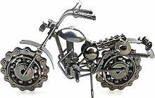 VORCOOL Vintage Eisen Motorrad Modell Klassische