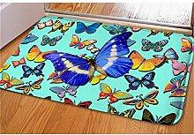 Vordere Tür Willkommen Mode 3D-Tier Schmetterling