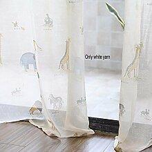 Vorhänge Einfache Moderne Schatten Vorhang,