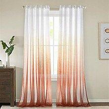 Vorhänge Farbverlauf Farbdruck Voile Fenster