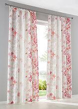 Vorhang Alina (1er-Pack), rosa (H/B: 145/135 cm)