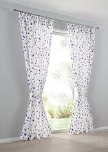 Vorhang Anni (1er-Pack), lila (H/B: 225/135 cm)