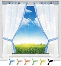 Vorhang, Arsvita, Schlaufen, Gardinenset
