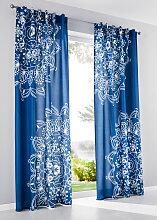 Vorhang Avan (1er-Pack), blau (H/B: 245/140 cm)