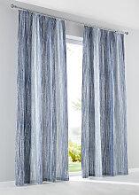 Vorhang Batik (1er-Pack), blau (H/B: 145/135 cm)