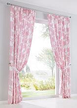 Vorhang Birte (1er-Pack), rosa (H/B: 145/135 cm)