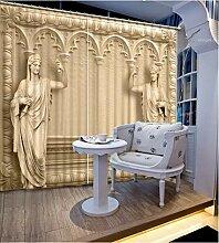 Vorhang Blackout 3D moderner Vorhang für