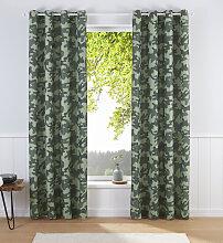 Vorhang, Camouflage, Bruno Banani, Ösen 1 Stück