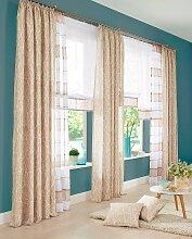 Vorhang, Camposa, my home, Kräuselband 2 Stück