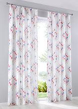 Vorhang Clea (1er-Pack), weiß (H/B: 145/135 cm)