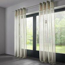 Vorhang Emily aus Leinen ca. 140x245cm