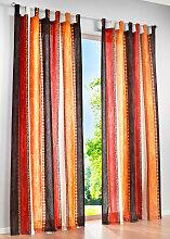 Vorhang Ethno (1er-Pack), orange (H/B: 145/135 cm)