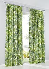 Vorhang Farn (1er-Pack), grün (H/B: 145/135 cm)