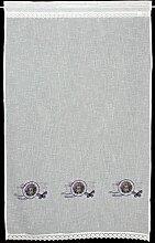 Vorhang / Fensterdeko / Seitenschal / Gardine /