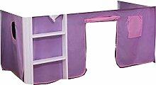 Vorhang für Hochbett Etagenbett Vorhang 2 tlg. Neu Cinderella