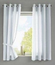 Vorhang, Gardinenbox, Ösen (2 Stück), Vorhänge