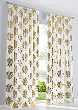 Vorhang Gladys (1er-Pack), gold (H/B: 145/135 cm)