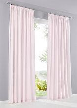 Vorhang Iska (1er-Pack), rosa (H/B: 175/135 cm)