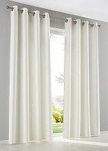 Vorhang Julia (1er-Pack), beige (H/B: 145/130 cm)