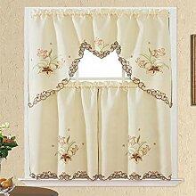 Vorhang, Küchengardine, Küchenfensterpaneel