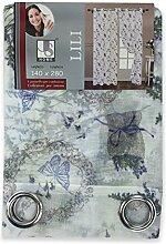 Vorhang Lili Lavendel Provence cm. 140x