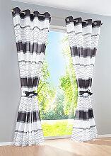 Vorhang Maira (1er-Pack), grau (H/B: 145/144 cm)