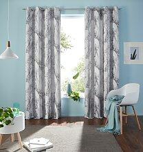 Vorhang, Mamor, my home, Ösen 1 Stück 1, H/B: