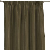 Vorhang mit Kräuselband, grün, 1 Stck. 130 ×