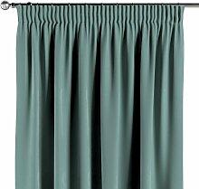 Vorhang mit Kräuselband, mintgrün, 1 Stck. 130