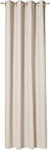 Vorhang Needlestripe mit Ösen (1 Stück),