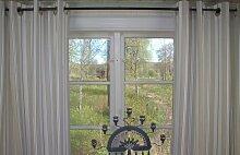 Vorhang ROMY BLAU Gestreift 115x240 cm 2 Stück