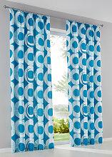 Vorhang Susann (1er-Pack), blau (H/B: 145/135 cm)