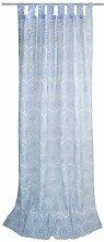 Vorhang T-Sprinkled Circles mit Stangendurchzug (1