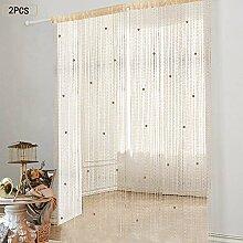 Vorhang Tür Fadenvorhang Perlen Vorhänge