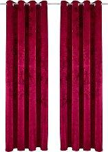 Vorhang, Velvet, my home, Ösen 1 Stück 1, H/B: