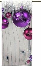 Vorhang Weihnachten Modern mit Zugband,