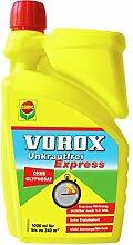 VOROX Unkrautfrei Express, Bekämpfung von
