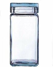 Vorrats-Dose aus Glas 2 Liter