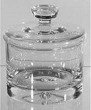 Vorratsdose, Bonboniere Kristallglas klar rund 18cm, Formano (29,00 EUR / Stück)