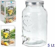 Vorratsdose Glas mit Wasserhahn lt5.5Haus und Küche