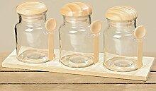 Vorratsdose Glasdose Vorratsglas 7tlg. 3042700