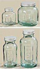 Vorratsdose Sepp Glasdose Vorratsglas Küche 0,35/1kg, 250/500ml mit Dekel (500ml) 2947500