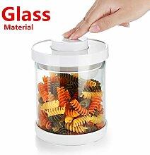 Vorratsdosen aus Glas mit luftdichten Deckeln,