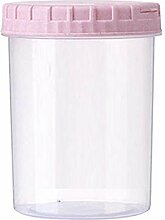 Vorratsdosen Pink Platstic Transparent