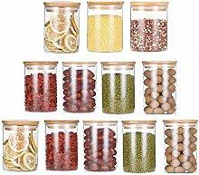 Vorratsglas für Lebensmittel, modernes Design,