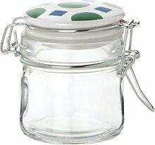 Vorratsglas, mit Deckel aus Keramik und