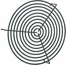 Vortice 22706 Lüftungsgitter, Schwarz