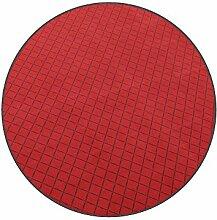 Vorwerk Bijou cross rot Kettelteppich Teppich 200 cm Ø Rund